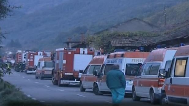 взрив във фабриката за утилизация на боеприпаси край горни лом