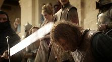 шон бийн обезглавен в Game of Thrones