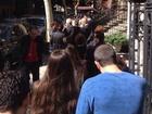 Опашка пред изборната секция в Ню Йорк на парламентарните избори