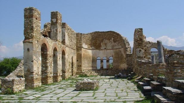 Базиликата на о-в Св. Ахил, където е погребан цар Самуил