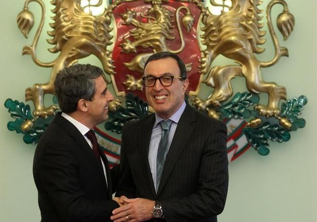 """Президентите Росен Плевнелиев и Петър Стоянов обявиха началото на кампанията """"25 години свободна България""""."""