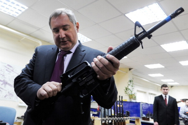 руският вицепремиер дмитрий рогозин