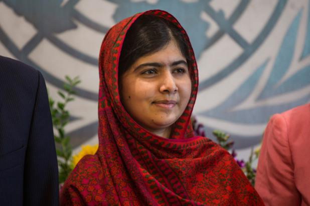 малала юсуфзай от пакистан е най-младият нобелов лауреат
