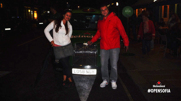 Венелина и Георги в Лондон