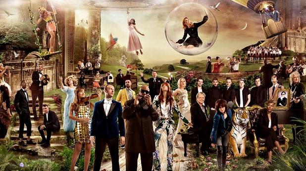 Участниците в клипа на BBC Music God Only Knows