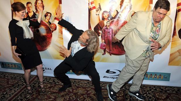 Големият Лебовски на премиерата на филма в Blu Ray