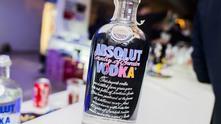 Absolut Warhol bottle