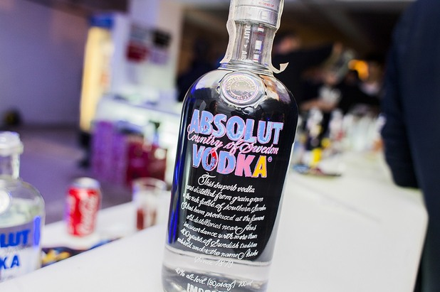 Absolut Warhol bottle