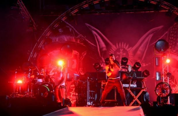 The Prodigy на концерт в Будабеща