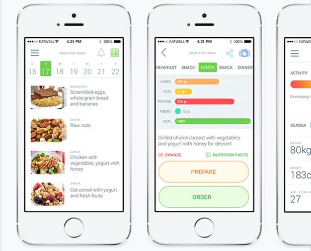 Българското приложение  eatwell се грижи за правилното хранене