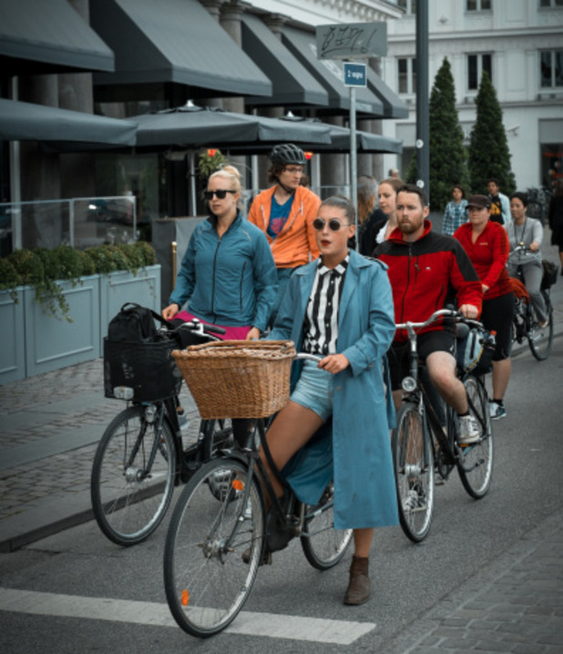 Копенхаген, велосипеди