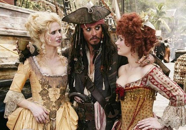 Карибски пирати - най-скъпият филм