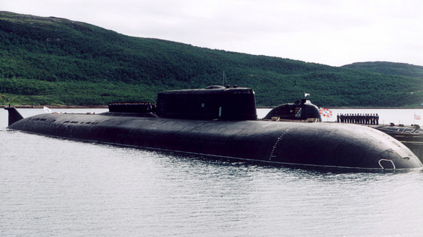 Руска атомна подводница  K-159