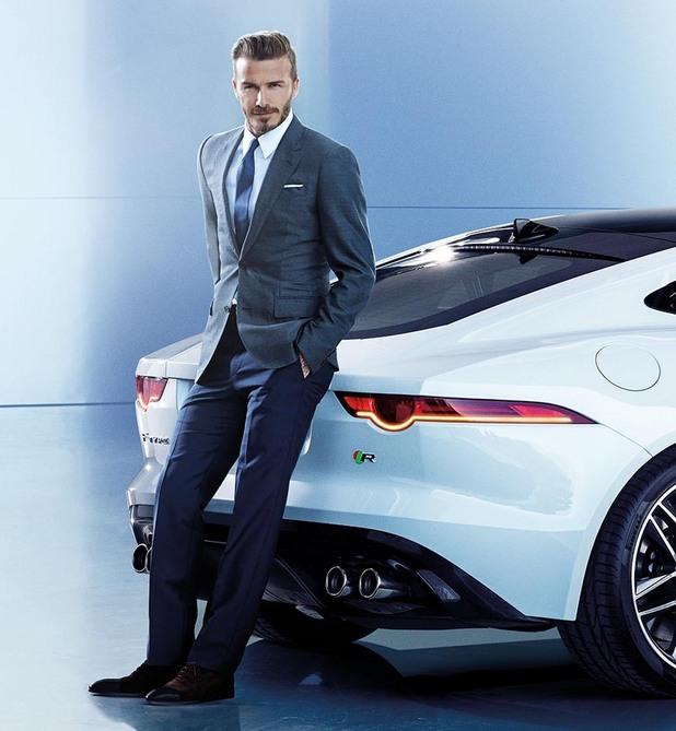 Дейвид Бекам стана лице на Jaguar в Китай