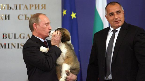 Путин, Бойко Борисов