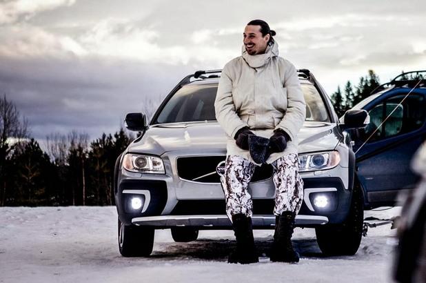 Златан Ибрахимович в реклама на Volvo