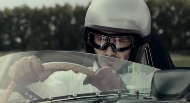 Дейвид Бекъм в реклама на Jaguar