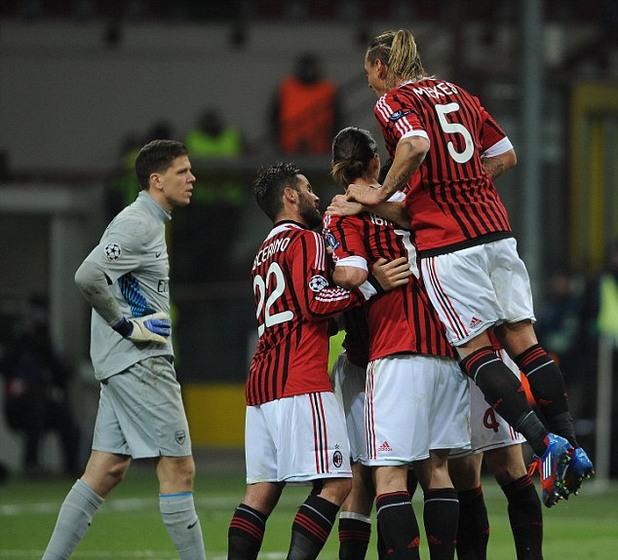 Милан - Арсенал
