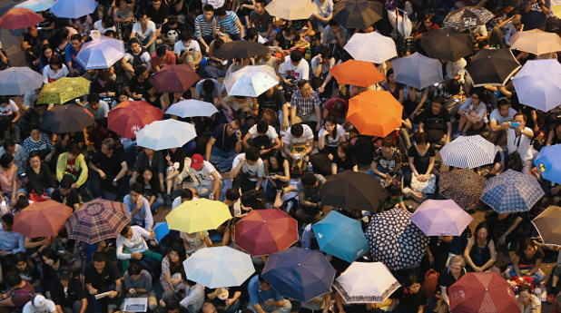 Революцията на чадърите