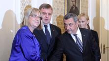 Преговори между ГЕРБ, НФСБ и ВМРО