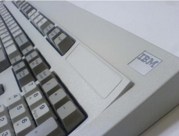 A classic keyboard
