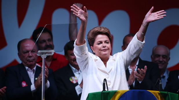 Дилма Русеф спечели втори мандат в Бразилия