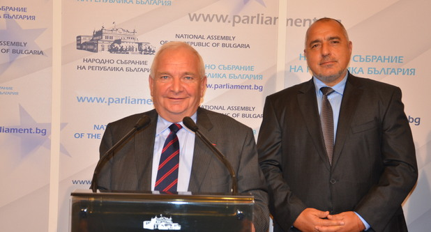 Бойко Борисов и Жозеф Дол