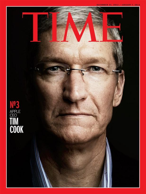 """Тим Кук е един от подгласниците в класацията на сп. Time """"Човек на годината"""""""