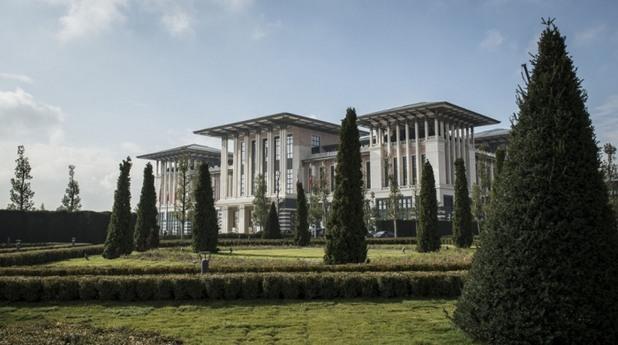 Новият президентски палат на Ердоган
