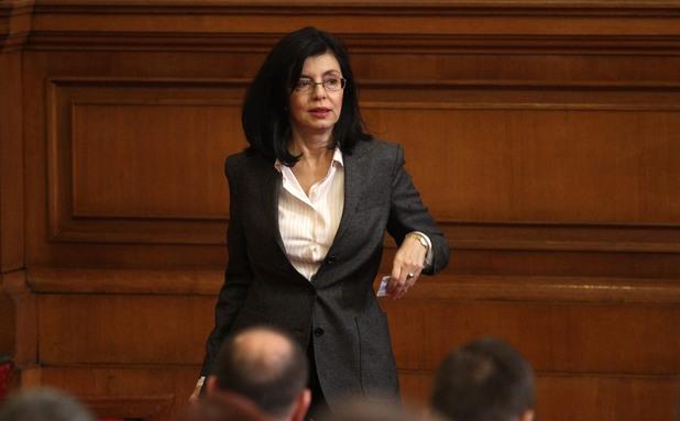 Миглена Кунева в парламента