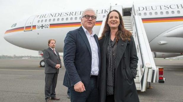 Външния министър на Германия Франк и  Наталия Вьорнер