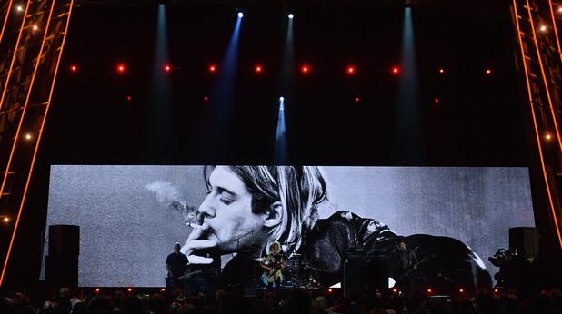 Концерт в памет на Кърт Кобейн, Нирвана