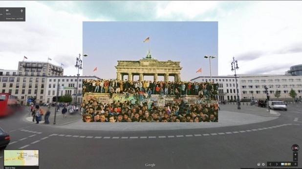 Берлин - минало и настояще в един кадър