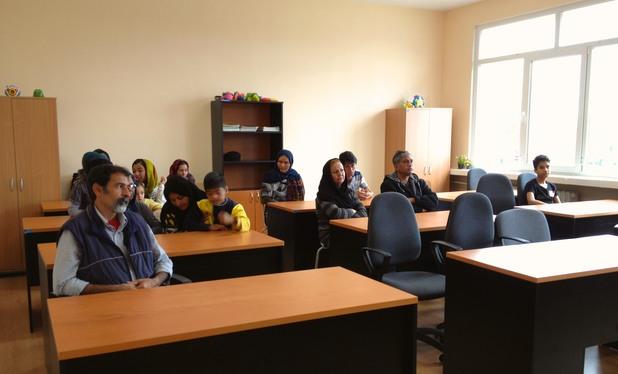 Бежанците в българско училище
