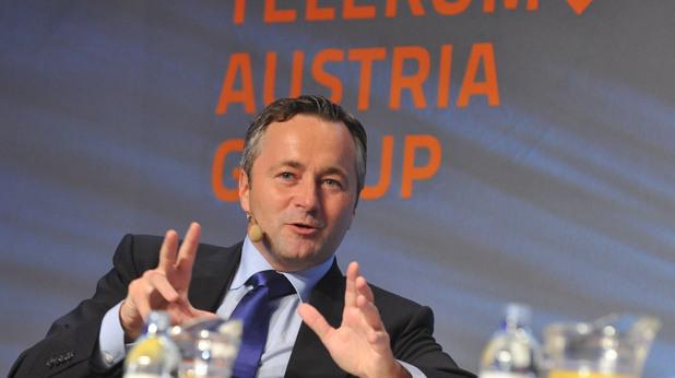 Ханес Аметсрайтер, главен изпълнителен директор на Telekom Austria Group