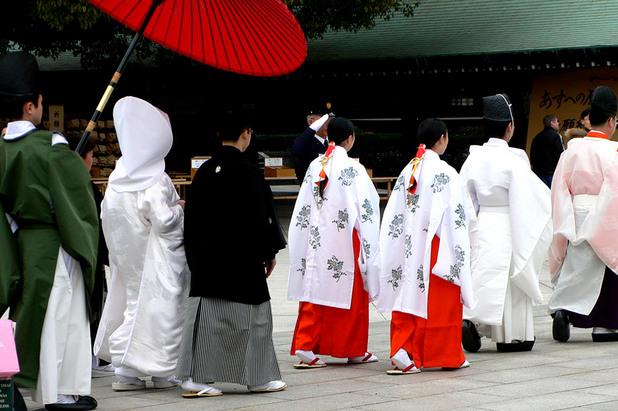 японска сватба