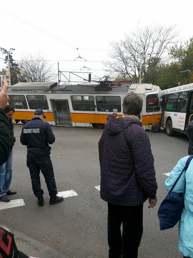 Катастрофа в София