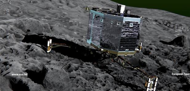 """Мисия """"Розета"""" на Европейската космическа агенция"""