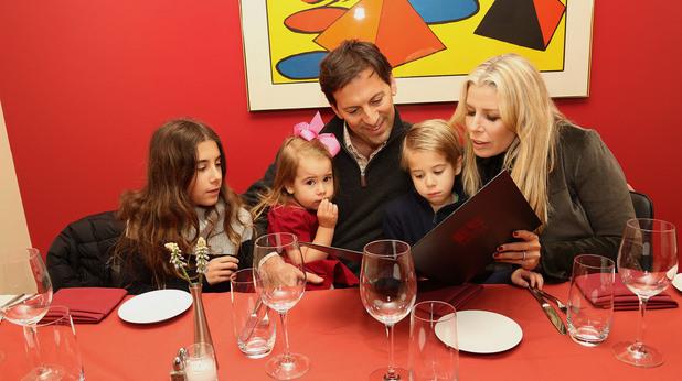 С деца в ресторант