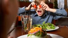 С деца в ресторанта
