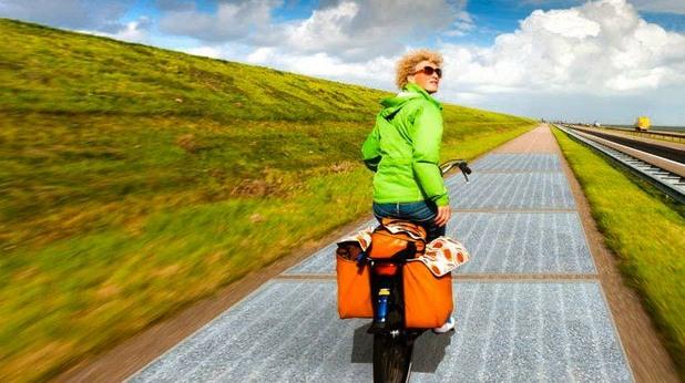 SolaRoad - велоалея със слънчеви панели в Холандия