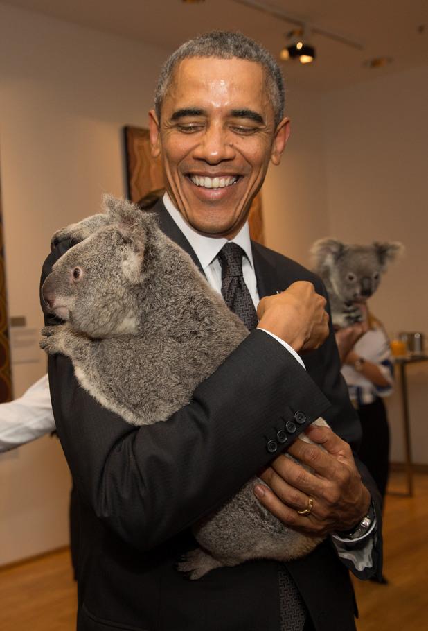 Лидерите от Г 20 се снимат с коали