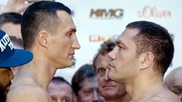 Снимка на Владимир Кличко, която Build използва, за да представи боксьора