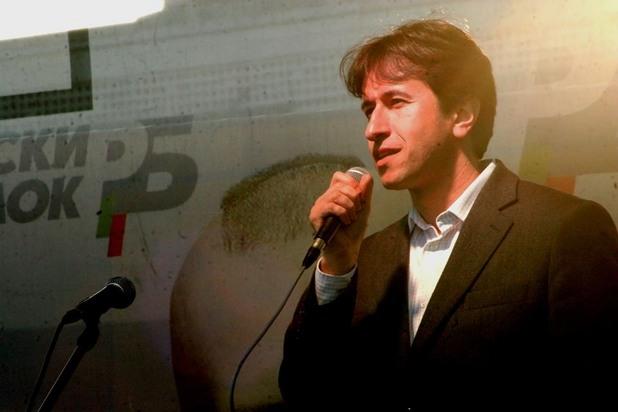"""корман исмаилов, председател на нп """"свобода и достойнство"""", част от реформаторския блок"""