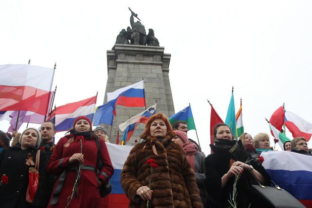 23 ноември пред Паметника на Съветската армия, се проведе акция в защита на историческите паметници,