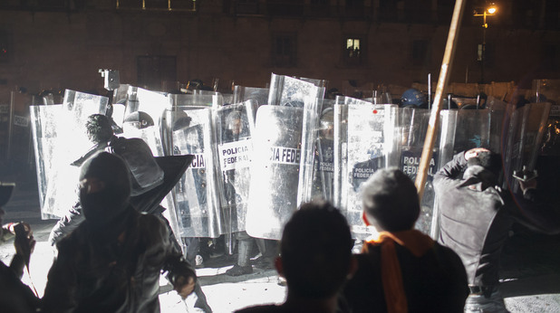 Протести в Мексико