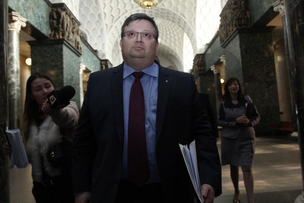 Сотир Цацаров в Съдебната Палата