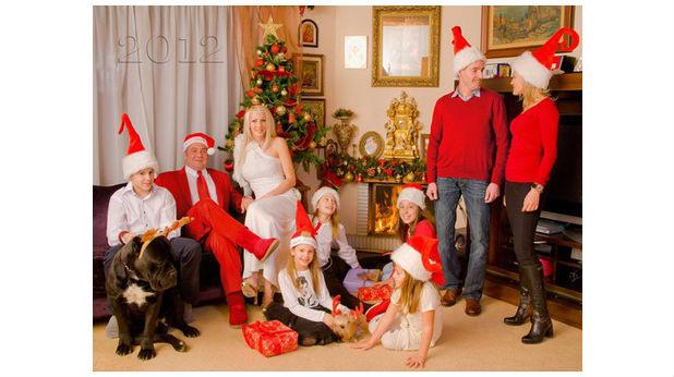 Коледната картичка на Слави Бинев