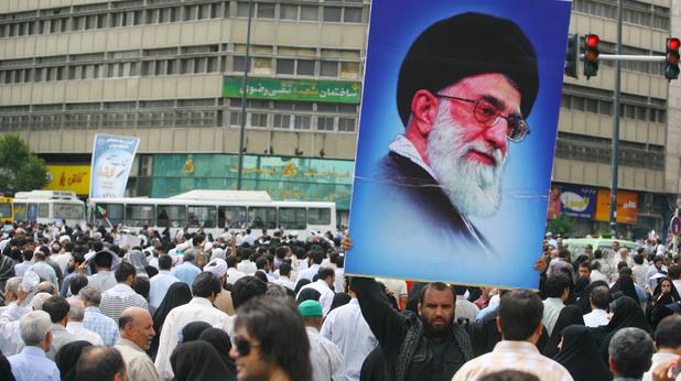 Аятолах Али Хаменей, духовен водач на Иран