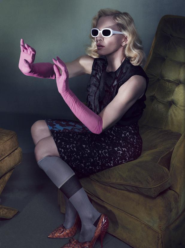 Мадона се снима в гола фотосесия за Interview